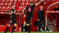 Real Madrid derribó a Granada y mantiene la pugna por el título de la liga española