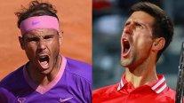 Rafael Nadal y Novak Djokovic definen en final soñada al campeón en Roma
