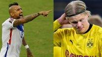Arturo Vidal: Erling Haaland no está entre los mejores delanteros del mundo
