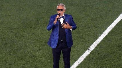 """Andrea Bocelli emocionó en Roma con su """"Nessum Dorma"""" para abrir la Eurocopa 2020"""