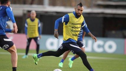 ¡Con Vidal de regreso! La Roja comenzó este viernes su preparación para la Copa América