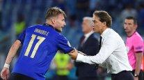 """Roberto Mancini tras la victoria sobre Suiza: """"Tenemos margen para mejorar"""""""