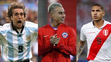 Con Eduardo Vargas en la lista: Los 10 goleadores históricos de la Copa América