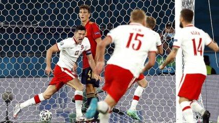 Revive los goles del empate entre España y Polonia en la Eurocopa