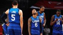 """¡Gran sorpresa! El """"Dream Team"""" de Estados Unidos debutó con derrota ante Francia en Tokio"""