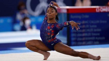 La espectacular rutina de Simone Biles en las clasificatorias de la gimnasia artística