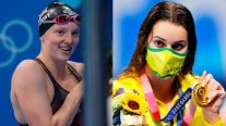 La estadounidense de 17 años Lydia Jacoby y la australiana Kaylee McKeown ganaron oro en Natación