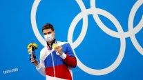 El ruso Evgeny Rylov conquistó el oro en los 100 metros espalda en la natación masculina en Tokio