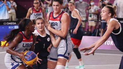 Estados Unidos respondió al favoritismo y se quedó con el oro en el baloncesto 3x3