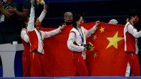 China desplazó a Japón de la cima del medallero olímpico de Tokio 2020
