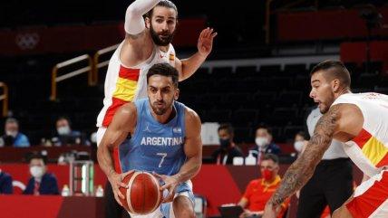 Argentina cayó ante España y complicó su clasificación en el baloncesto de Tokio 2020