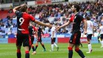 Los dos goles con que Brereton rescató un empate para Blackburn ante Bolton Wanderers