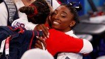 Simone Biles retornó a la competencia olímpica en Tokio con un bronce en la barra de equilibrios
