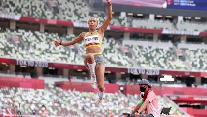 Malaika Mihambo se coronó campeona olímpica con un salto de siete metros en Tokio 2020