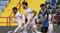 Joaquín Larrivey a marqué un penalty et scellé l'égalité pour le U contre Huachipato