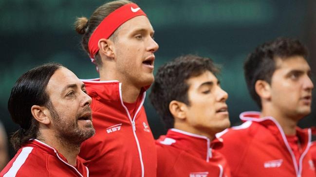Chile quiere dar el primer golpe ante Eslovaquia en la serie de Copa Davis
