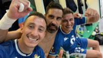"""Claudio Bravo celebró la remontada de Real Betis en Europa League: """"Siempre equipo, hasta el final"""""""