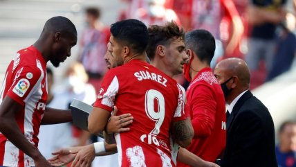 Atlético de Madrid empató con Athletic de Bilbao y puso en riesgo el liderato en España
