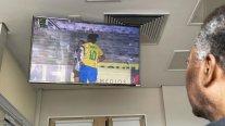 """Fútbol remedio"": Pelé vio desde hospital la goleada de Brasil a Argentina en amistoso femenino"