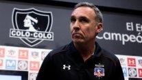 Marcelo Espina: El silencio pone las cosas en su lugar, Colo Colo va a ser campeón