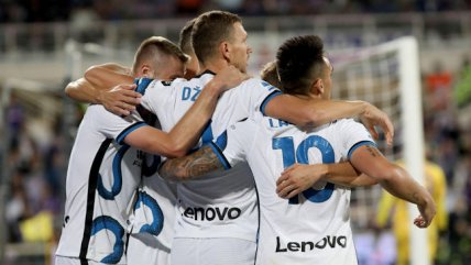 Inter de Milán no cedió terreno en la disputa por el liderato de la Serie A al vencer a Fiorentina