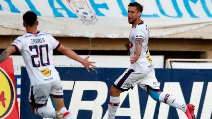 Gonzalo Sosa remató desde lejos y decretó el empate de Melipilla y Audax
